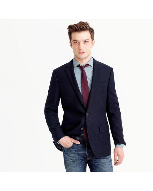 J.Crew - Blue Ludlow Blazer In Italian Cashmere for Men - Lyst