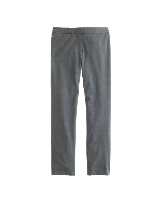 J.Crew | Gray Tall Paley Pant In Italian Stretch Wool | Lyst