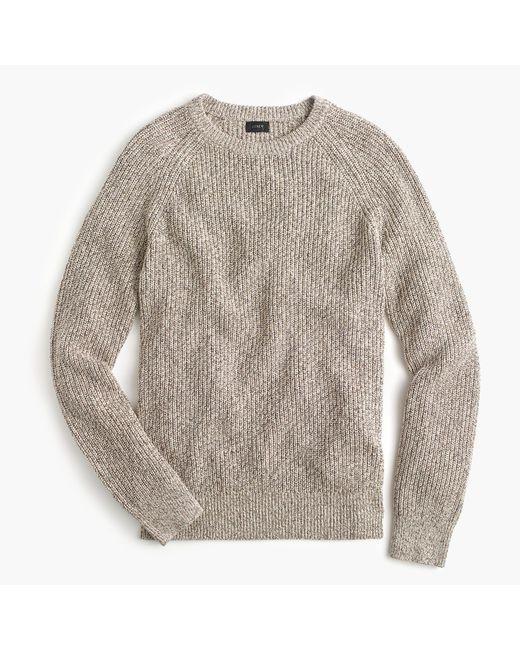J.Crew   Multicolor Marled Cotton Crewneck Sweater   Lyst