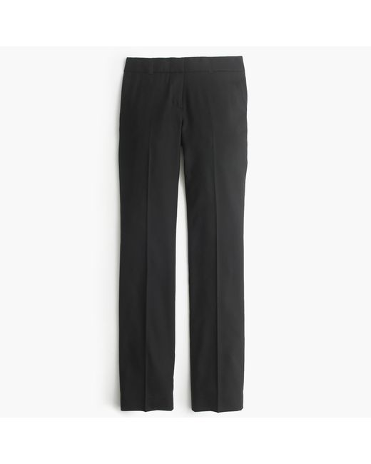 J.Crew   Black Tall Maddie Pant In Two-way Stretch Cotton   Lyst