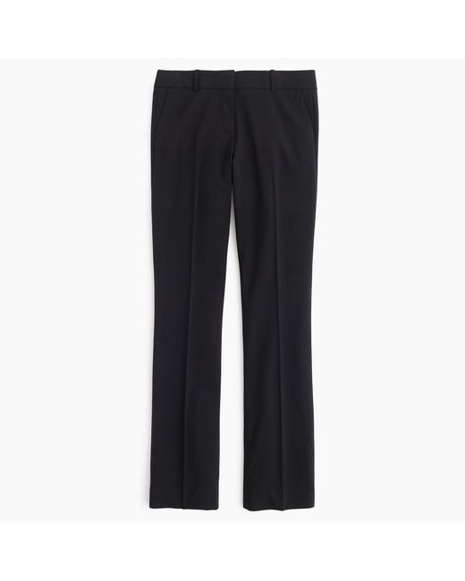 J.Crew | Black Tall Campbell Trouser In Italian Stretch Wool | Lyst