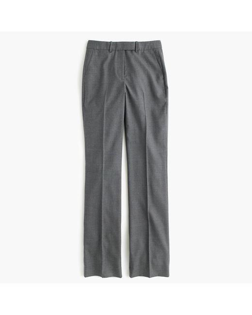 J.Crew | Gray Tall Preston Pant In Super 120s Wool | Lyst