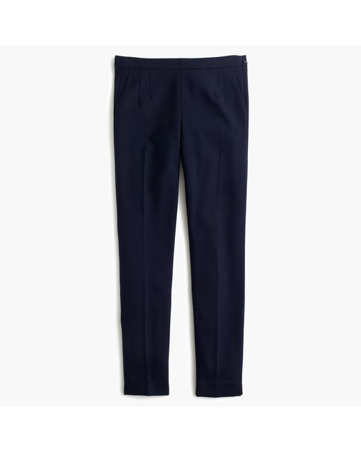 J.Crew | Blue Martie Pant In Bi-stretch Wool | Lyst