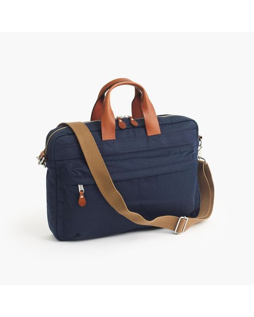J.Crew | Blue Harwick Briefcase for Men | Lyst
