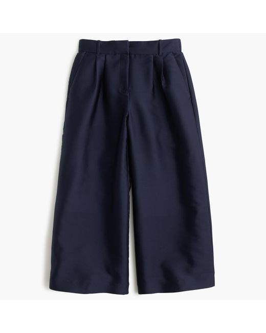 J.Crew | Blue Collection Pant In Italian Satin | Lyst