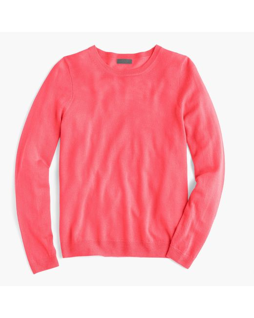 J.Crew | Pink Italian Featherweight Cashmere Long-sleeve T-shirt for Men | Lyst