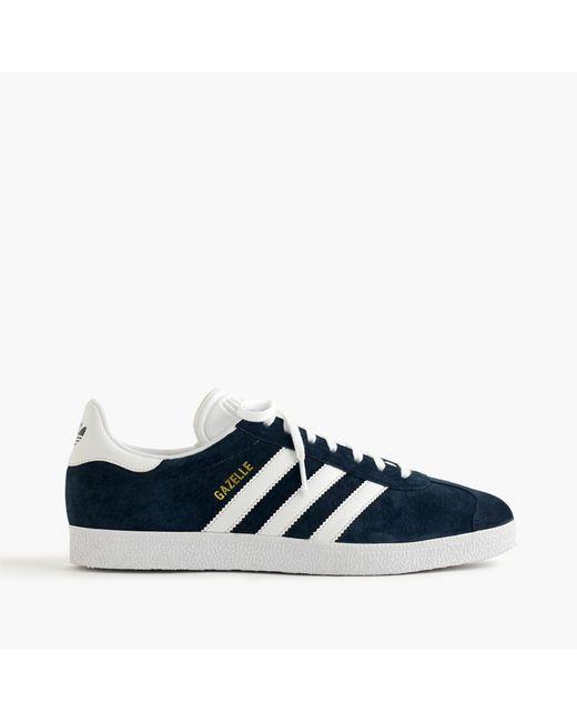 J.Crew | Blue Adidas Gazelle Sneakers for Men | Lyst