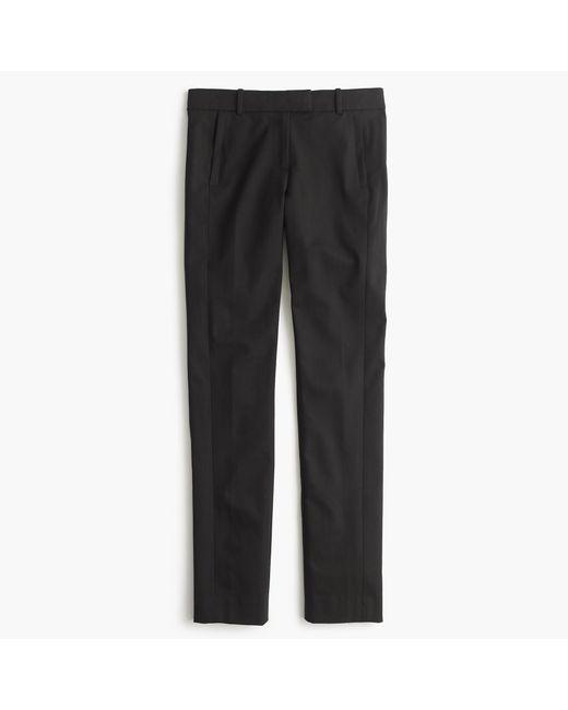 J.Crew | Black Tall Maddie Pant In Bi-stretch Cotton | Lyst