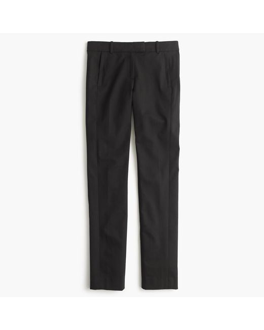 J.Crew | Black Tall Maddie Pant In Two-way Stretch Cotton | Lyst
