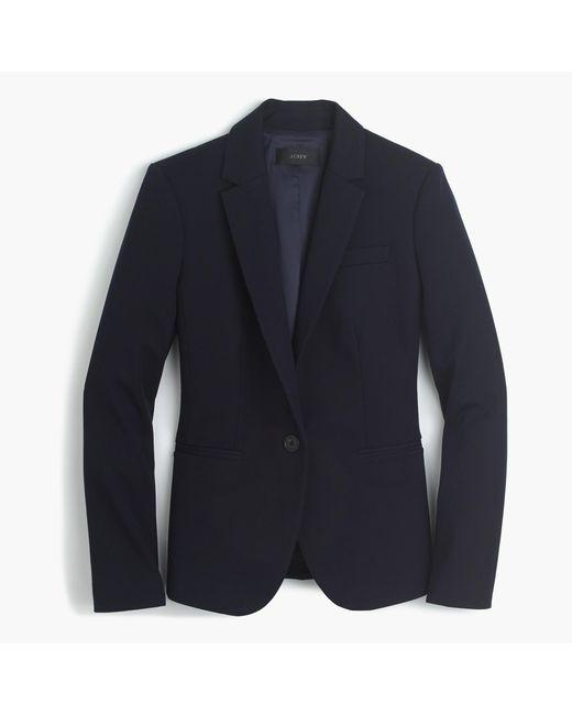 J.Crew | Blue Tall Campbell Blazer In Bi-stretch Cotton | Lyst