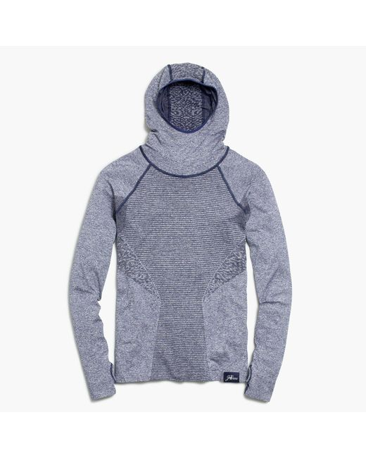 J.Crew | Blue New Balance Seamless Hoodie for Men | Lyst