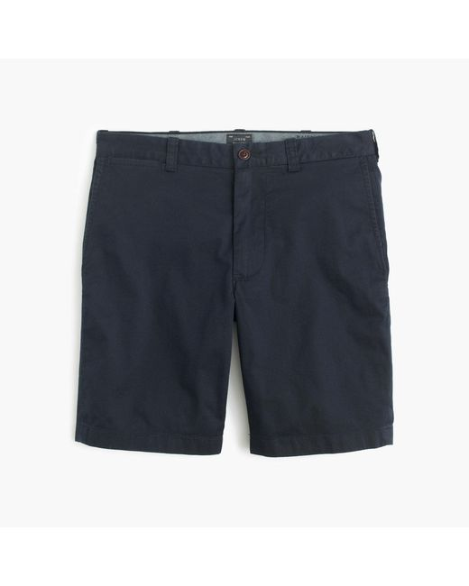 "J.Crew | Blue 9"" Stretch Short for Men | Lyst"