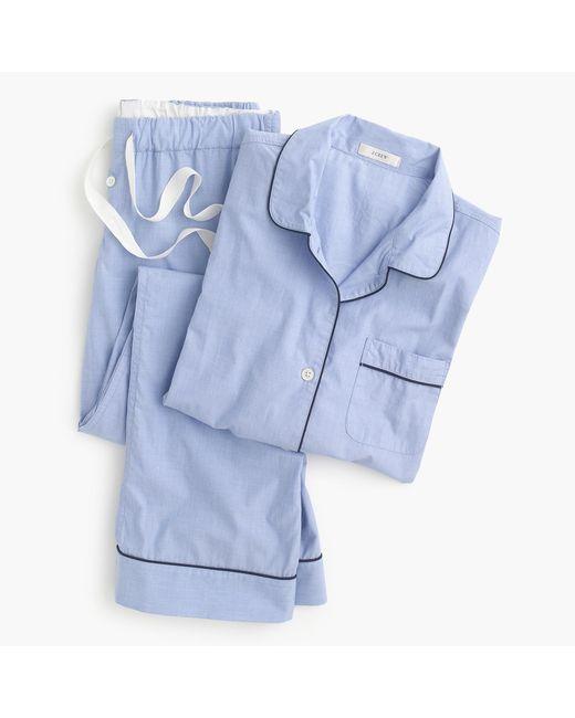 J.Crew - Blue Petite Vintage Pajama Set - Lyst