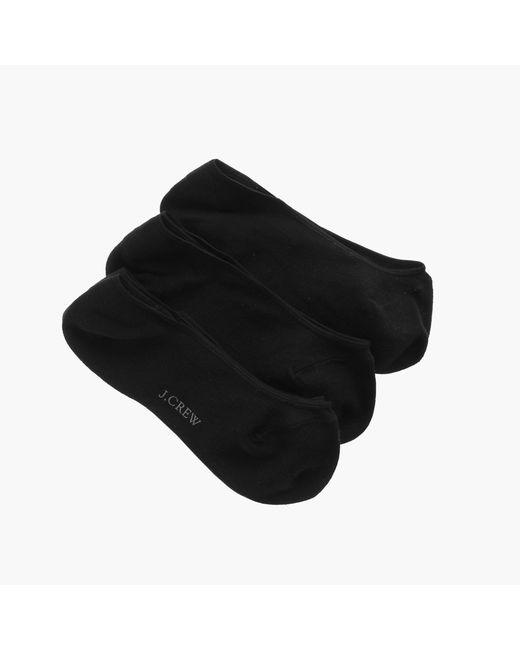 J.Crew - Black No-show Socks Three-pack - Lyst