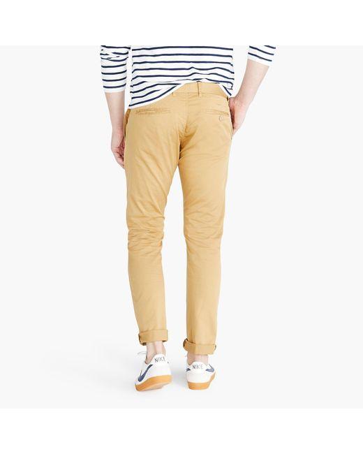 b258b69147c0 ... J.Crew - Brown 484 Slim-fit Lightweight Garment-dyed Stretch Chino for  ...