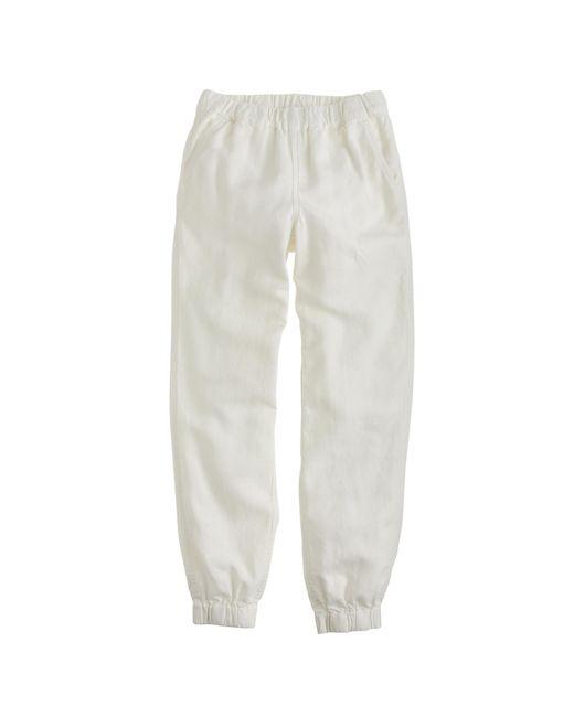 J.Crew | White Petite Seaside Pant | Lyst