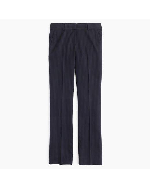 J.Crew | Blue Campbell Trouser In Pinstripe Super 120s Wool | Lyst