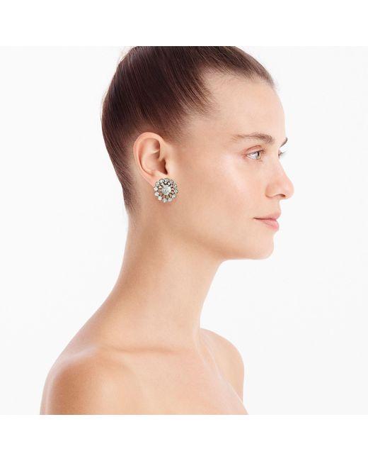 J.Crew - Multicolor Snowflake Stud Earrings - Lyst