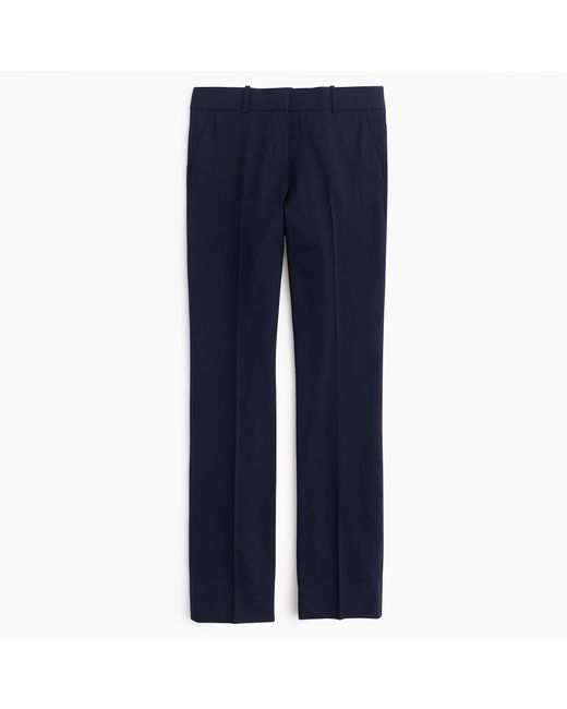 J.Crew | Blue Petite Campbell Trouser In Italian Stretch Wool | Lyst