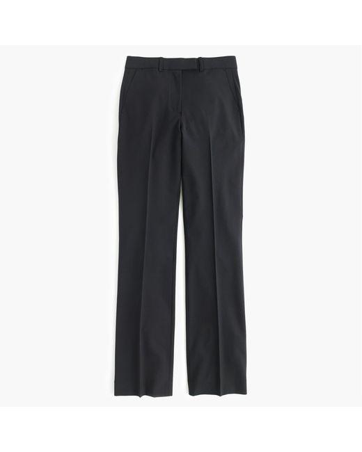 J.Crew | Black Petite Preston Pant In Italian Stretch Wool | Lyst