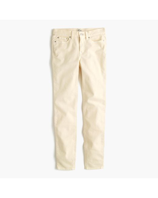 J.Crew | Natural Tall Toothpick Cord | Lyst