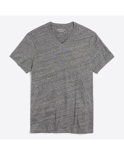 J.Crew - Gray Slim Broken-in V-neck T-shirt for Men - Lyst