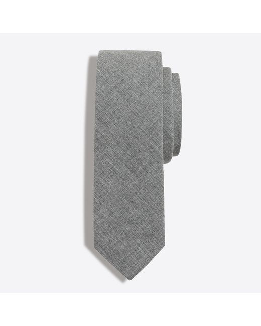 J.Crew - Gray Cotton Tie for Men - Lyst