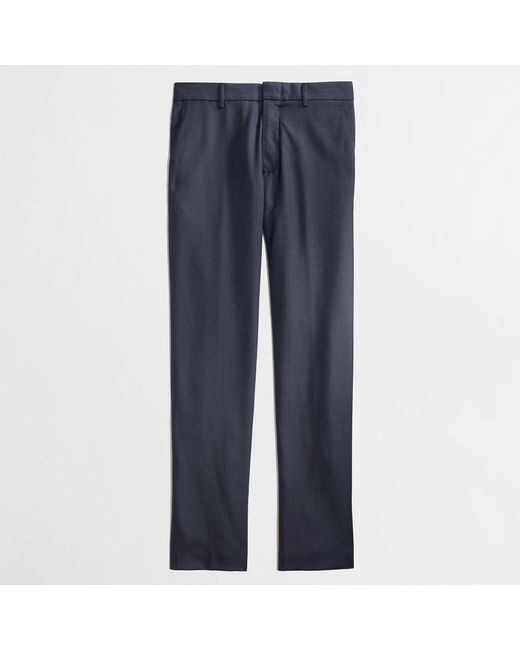 J.Crew - Blue Slim-fit Thompson Suit Pant In Worsted Wool for Men - Lyst