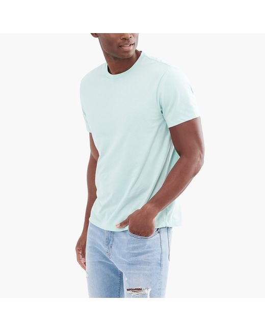 J.Crew - Blue Broken-in T-shirt for Men - Lyst