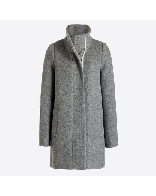 J.Crew - Gray City Coat - Lyst