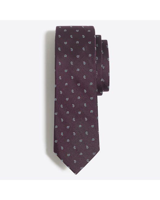 J.Crew - Purple Critter Tie for Men - Lyst