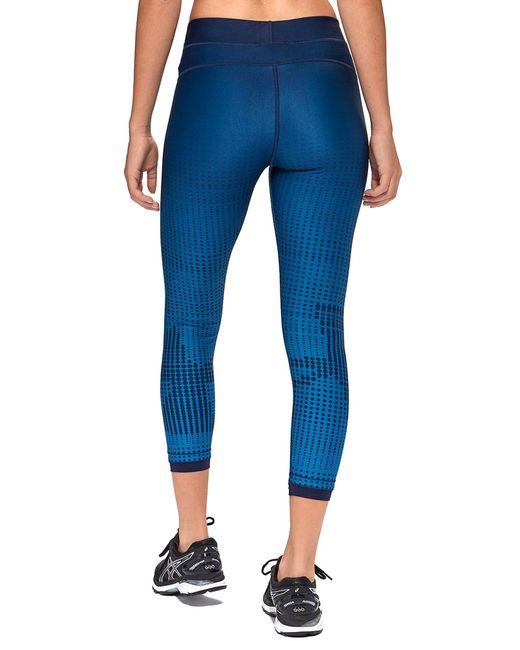 Jd Fitness Leggings: Under Armour Heatgear Fitness Leggings In Blue