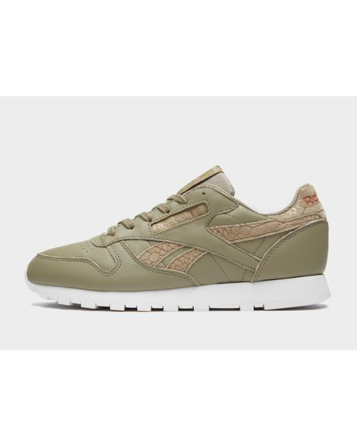 Reebok - Green Classic Leather - Lyst