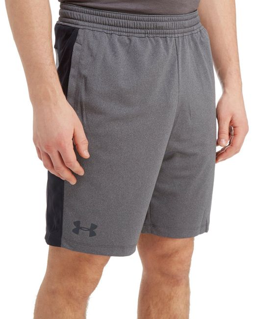 "Under Armour - Gray Raid 8"" Shorts for Men - Lyst"