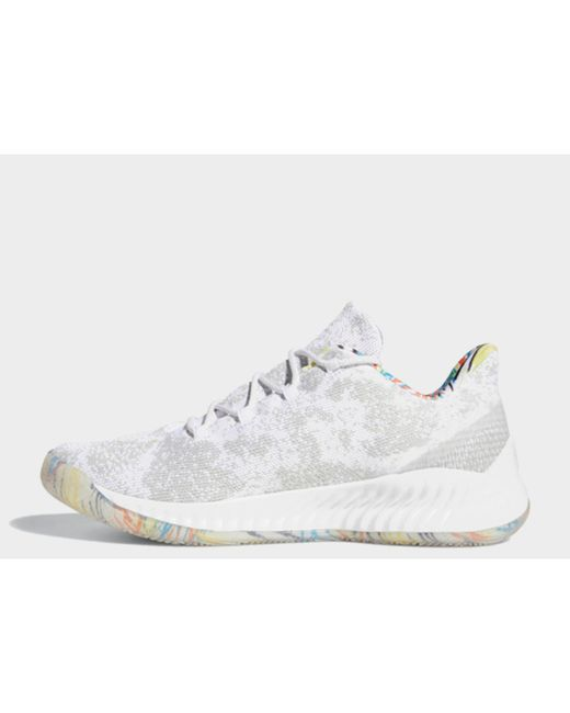 finest selection 4ee52 052ac Adidas - White Harden Be X Shoes for Men - Lyst ...
