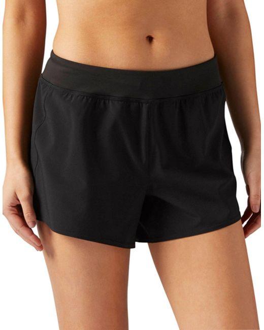 Reebok - Black Woven 10 Cms Shorts - Lyst