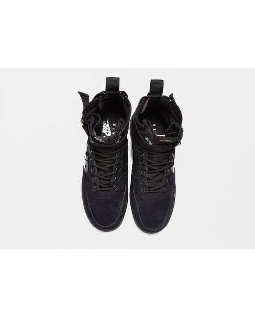 49557f860b6 ... Nike - Black Sf Air Force 1 Mid for Men - Lyst ...