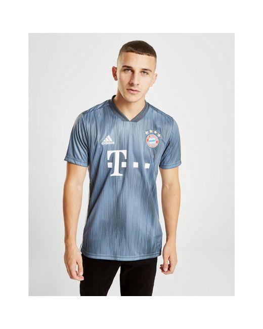 cf21875a2d7 Adidas - Blue Fc Bayern Third Jersey for Men - Lyst ...
