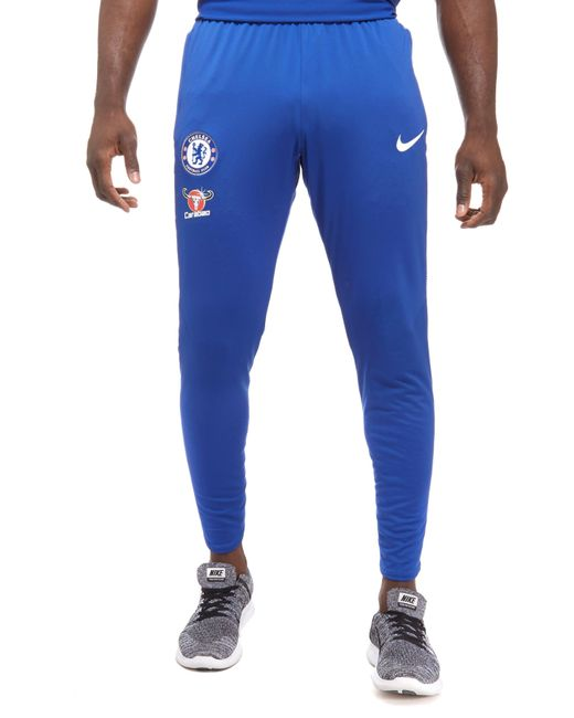 Nike | Blue Chelsea Fc 2017 Squad Pants for Men | Lyst