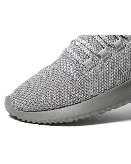 03d24183553396 ... Adidas Originals - Gray Tubular Shadow Knit Ii for Men - Lyst ...