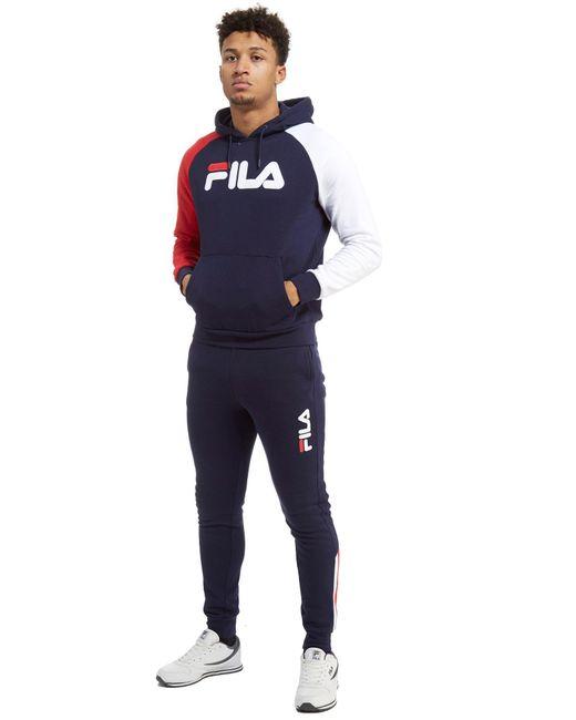 fila joggers. Fila | Blue Callum Fleece Joggers For Men Lyst