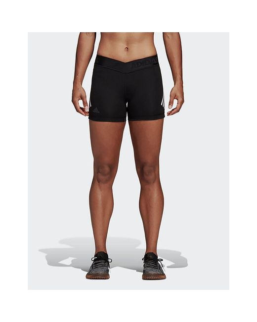 79972065d Adidas - Black Alphaskin Sport 3-stripes Short Tights for Men - Lyst ...