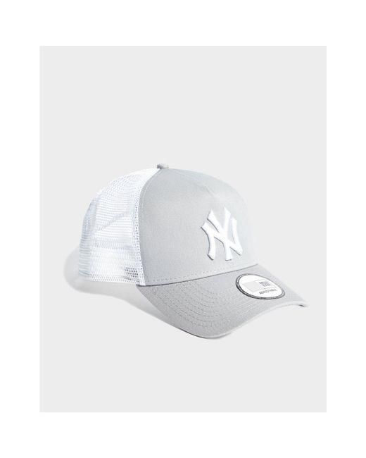 1343d0cb6b4 ... KTZ - Gray Mlb New York Yankees Snapback Trucker Cap - Lyst ...