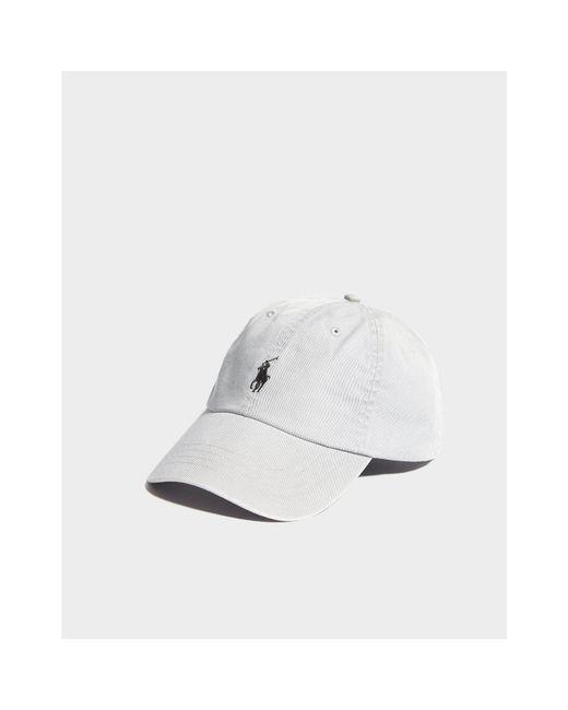 ... Polo Ralph Lauren - Gray Chino Cap - Lyst ... 77f2e93202a0