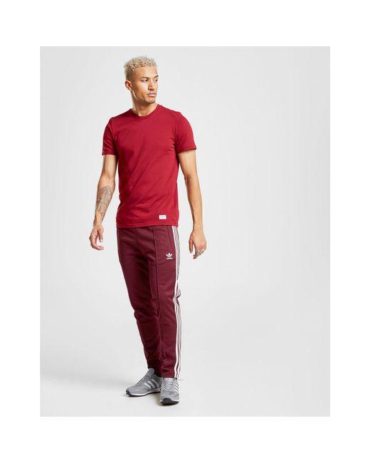 800ca6b98 ... Adidas Originals - Red Core T-shirt for Men - Lyst ...