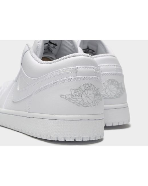 Lyst En Nike Air 1 Baja En Lyst Blanco Para Hombres 4ecd1f