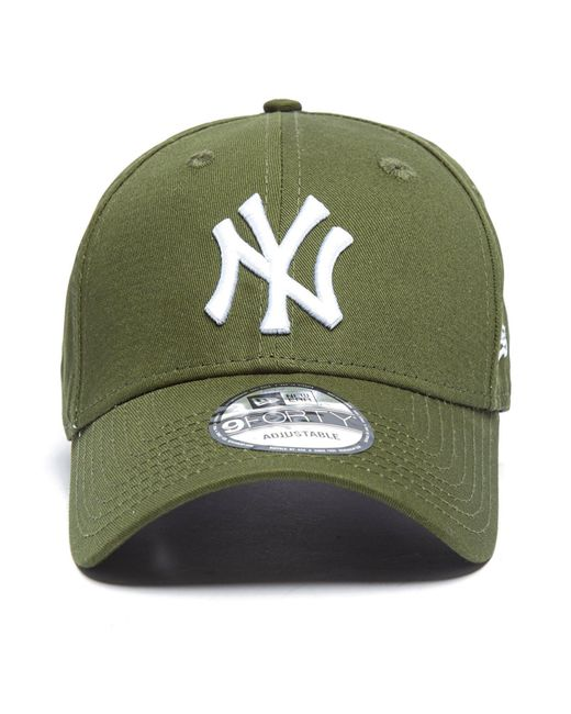 e266b1d6137 ... netherlands ktz green mlb new york yankees 9forty essentials cap for men  lyst 125da 97e0b