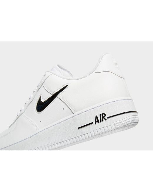 45ac239519 Nike Air Force 1 Essential Jewel in White for Men - Lyst