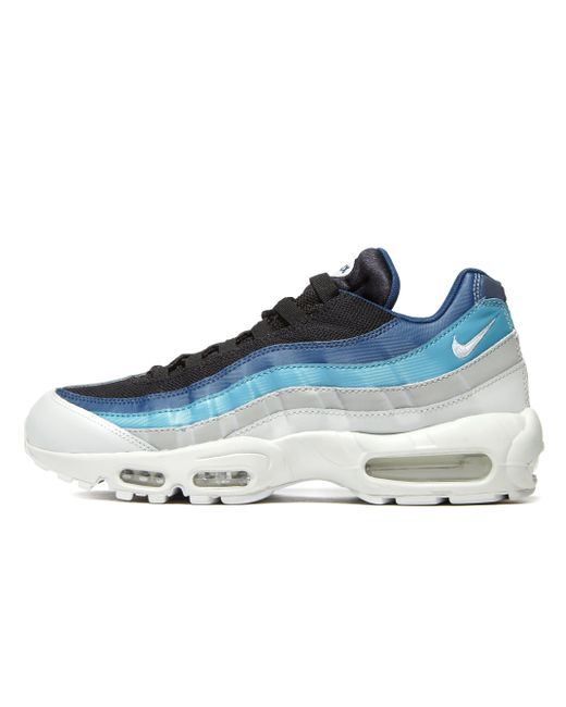 timeless design 942ae d33f4 ... australia nike blue air max 95 essential for men lyst 59bd4 0f714
