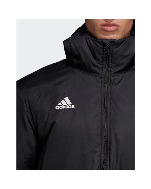 596b54b235f ... Adidas - Black Core 18 Stadium Jacket for Men - Lyst ...